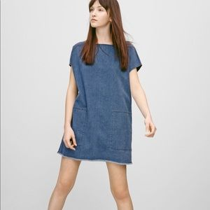 Wilfred Free Nori Dress Medium Wash Size XS